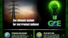 Web Design & Development - Green Energy Enterprises