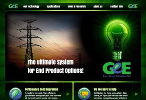 Web Design & Development - Green Energy Enterprises