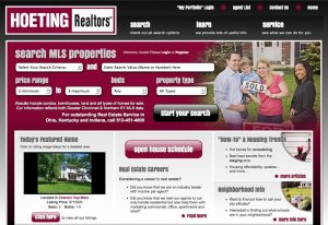 Web Design & Development - Hoeting Realtors