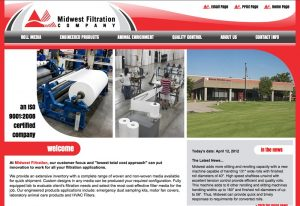 Web Design & Development - Midwest Filtration Company