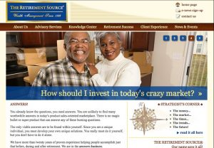Web Design & Development - The Retirement Source