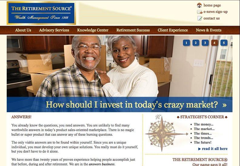 Web Design & Development - The Retirement Source