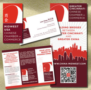 Corporate Identity, Printed Media - Midwest USA Chinese Chamber of Commerce