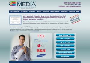 Web Design & Development - Healthcare Media Technologies