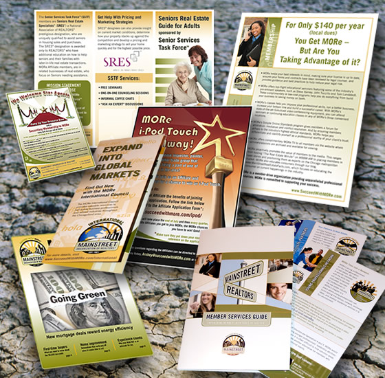 Collateral Design - Mainstreet Organization of REALTORS®