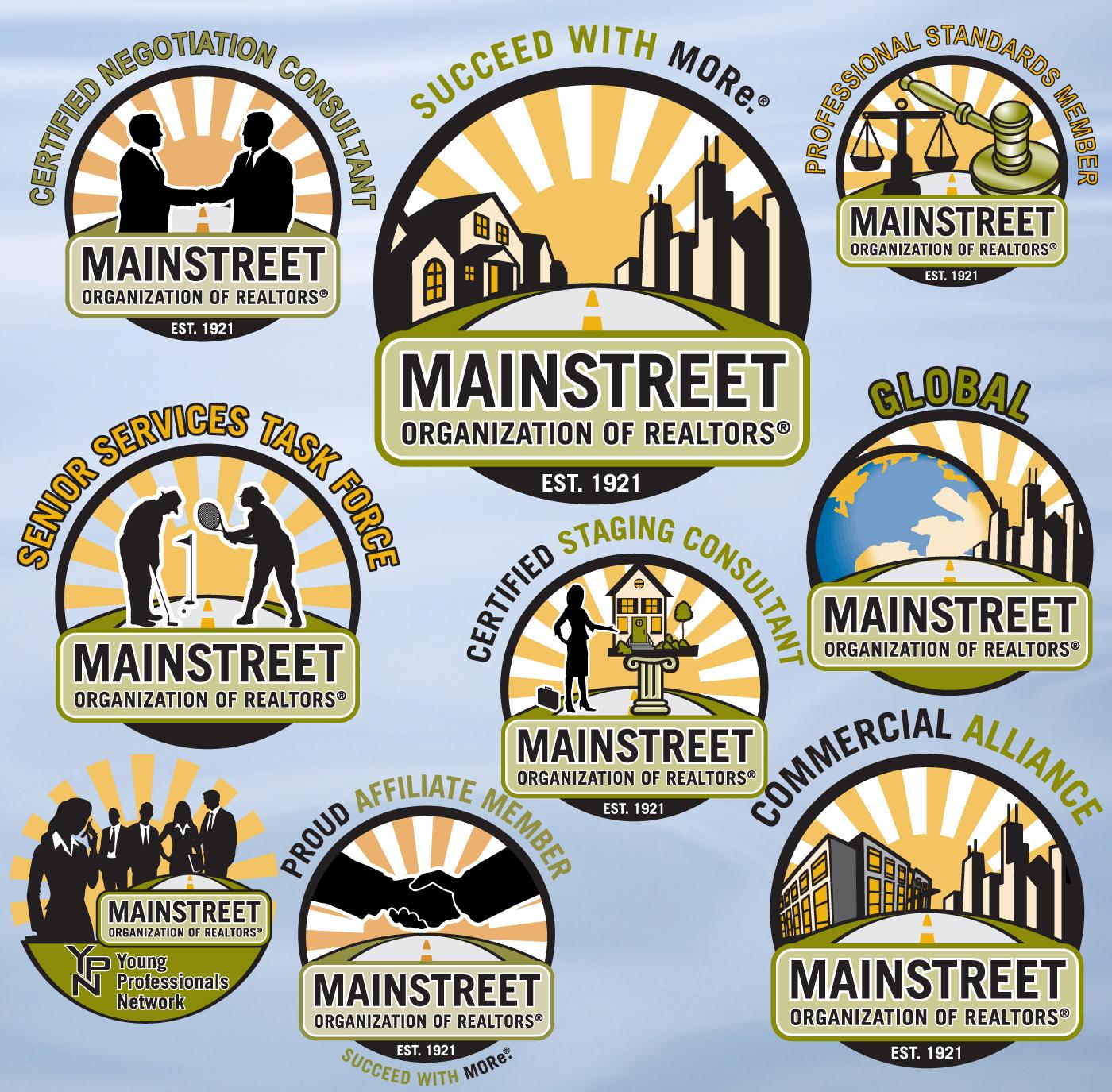 Logo Design - Mainstreet Organization of REALTORS®
